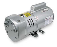 VACUUM PUMP, GAST 3/4 HP W/INTERNAL FILTER/MUFFLER - 4F742
