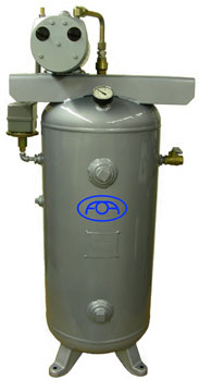 VACUUM SYSTEM, COMPLETE WITH VERTICAL 30GL TANK - 700-065V