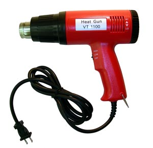 HEAT GUN, VARIABLE TEMP 250-1100 DEGREES F - 700-300