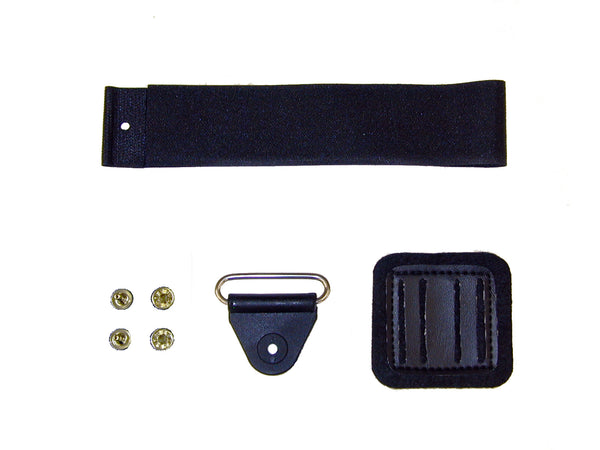 "AFO CLOSURE KIT, 1"" FOAM BLACK W/OVAL SS LOOP - 90024-14"