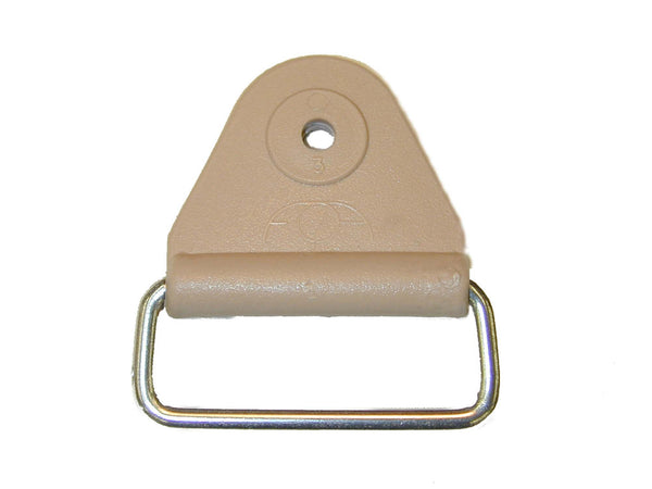 "CHAFE 1"" TRIANGLE BEIGE W/EXTENDED SS LOOP,25/PK - 214185-02E"