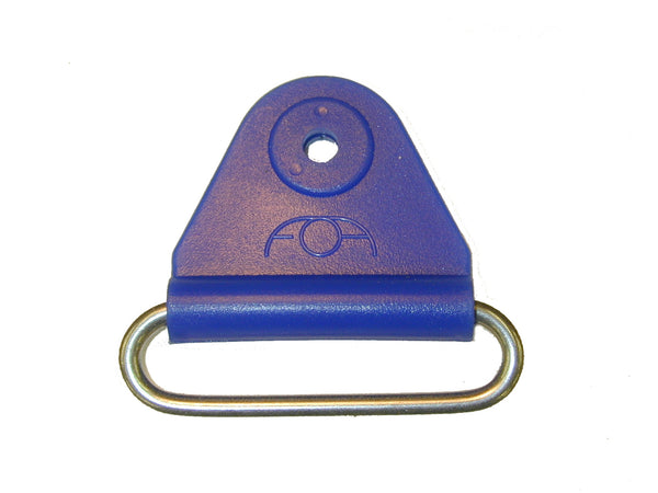 "CHAFE 1.5"" TRIANGLE BLUE W/ SS OVAL LOOP, 25/PK - 214187-09"
