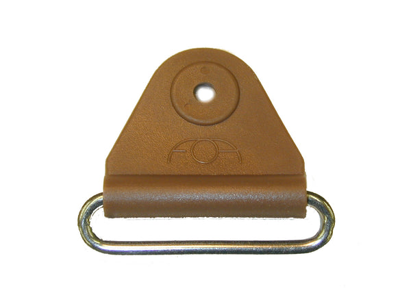 "CHAFE 1"" TRIANGLE BROWN W/ SS OVAL LOOP, 25/PK - 214185-11"