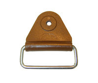 "CHAFE 1"" TRIANGLE BROWN W/EXTENDED SS LOOP,25/PK - 214185-11E"