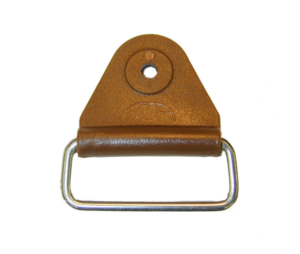 "CHAFE 1.5"" TRIANGLE BROWN W/EXT SS LOOP,25/PK - 214187-11E"