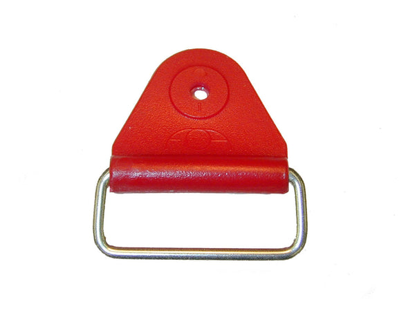 "CHAFE 1.5"" TRIANGLE RED W/EXTENDED SS LOOP,25/PK - 214187-04E"