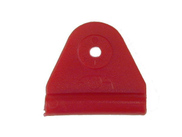 "CHAFE 2"" TRIANGLE RED,*CHAFE ONLY*, 25/PK - 214089-04"