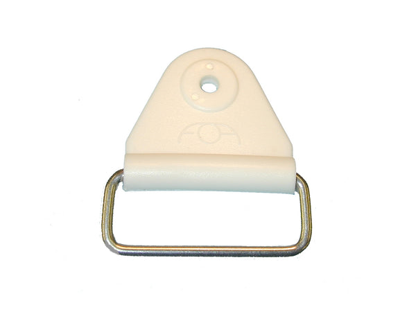 "CHAFE 1"" TRIANGLE WHITE W/EXTENDED SS LOOP,25/PK - 214185-01E"
