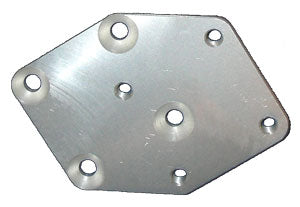 4SN1 DIAGONAL OFFSET PLATE LEFT - DOP-9L
