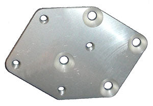 4SN1 DIAGONAL OFFSET PLATE RIGHT - DOP-9R