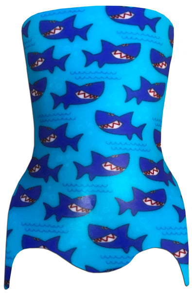 "TRANSFER PAPER SHARKS 40"" X 60"" - P-1303"