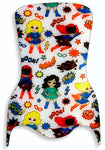 "TRANSFER PAPER SUPERGIRLS 40"" X 60"" - P-1308"