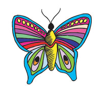 PAPER TRANSFER CARTOON BUTTERFLY - PT-BUTTERFLY 3
