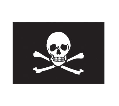 PAPER TRANSFER PIRATE FLAG - PT-PIRATE FLAG