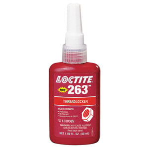 LOCTITE 263 HIGH STRENGTH 50 ML(1.69 OZ) BOTTLE - 1330585