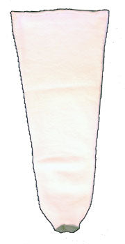 ROYAL DBL FLECE 1PLY SOCK SZ NARROW/SHORT W/HOLE - GORK1P-01-12
