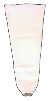 ROYAL DBL FLECE 2PLY SOCK SZ NARROW/MED W/HOLE - GORKDF-01-16