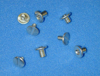 "SCREW POST 3/8"" ALUMINUM W/SCREWS 100/PK - 700057"