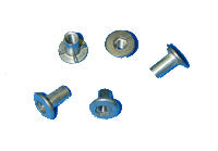 "SCREW POST 1/2"" SS W/HEX BACK 100/PK - 700051"