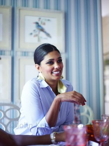 Stylish Entertaining:  Lunch with Rachel Roy
