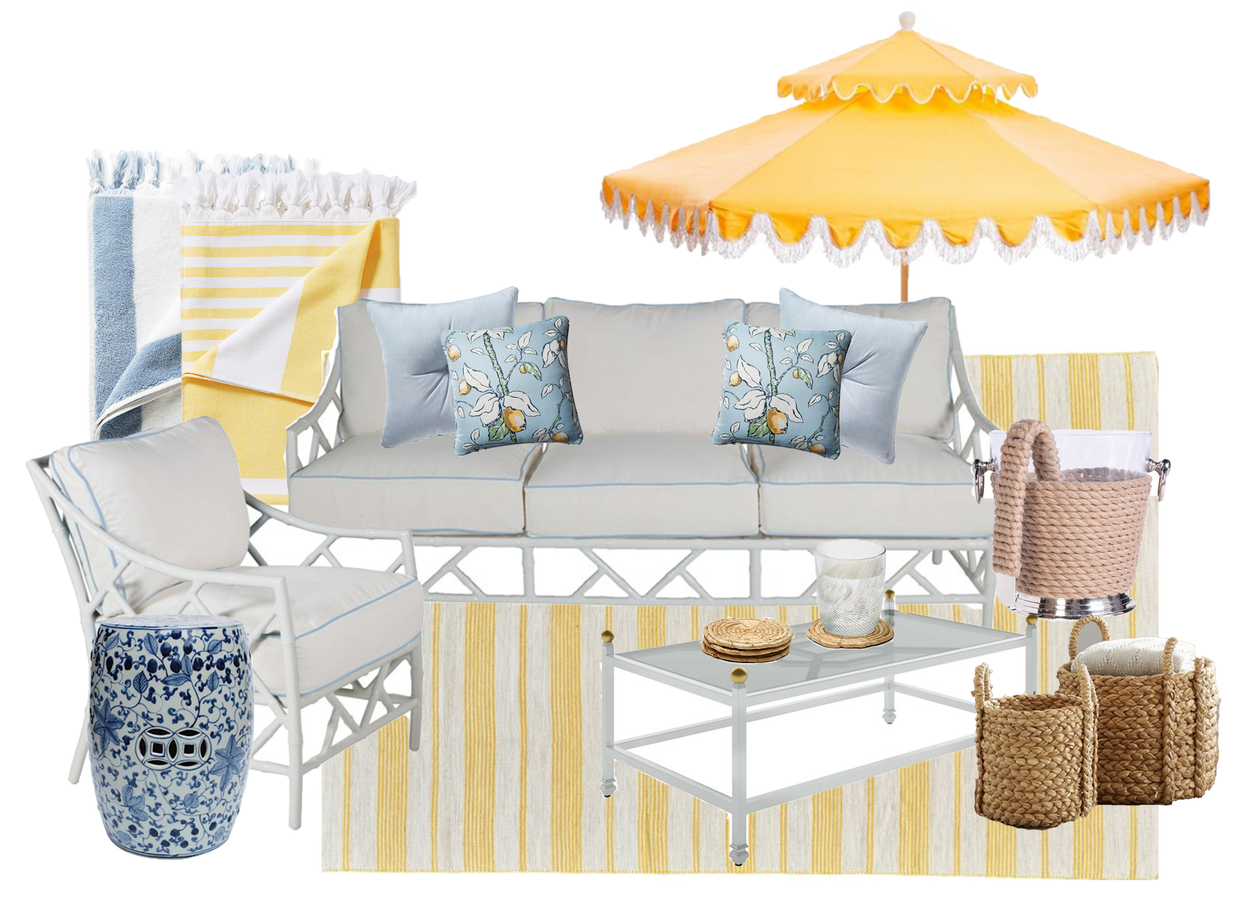 Yellow Outdoor Living