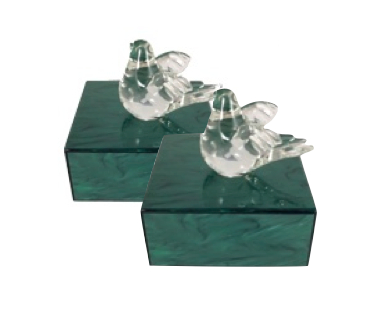 Gracious Living:  12 Days of Christmas Giveaway - Charlotte Max Lucite Boxes