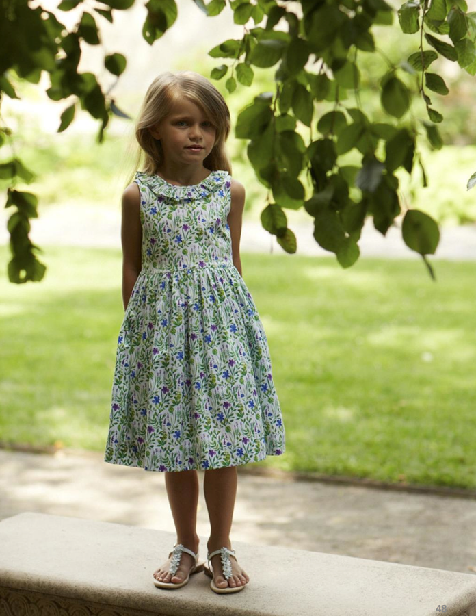 Oscar de la Renta Spring 2015 Childrenswear Collection