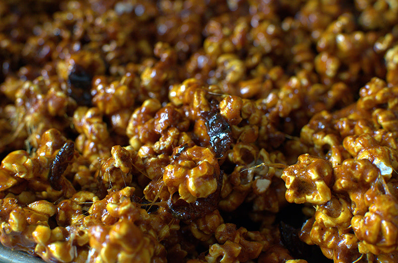 Super Bowl Recipe of the Day - Spicy Caramel Bacon Popcorn