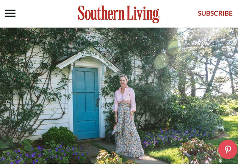 "Thank you to Southern Living for naming me one of ""The Souths Most Stylish 50 People""!"