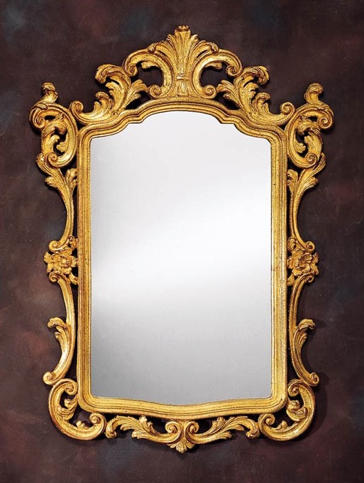 18th Century Carved Venetian Wall Mirror