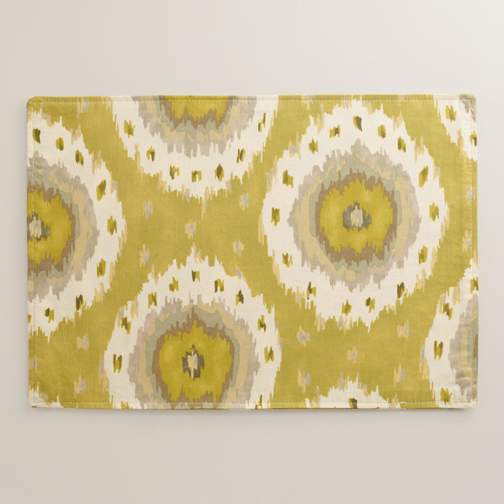 481192_CITRUS IKAT DOT PLACEMAT