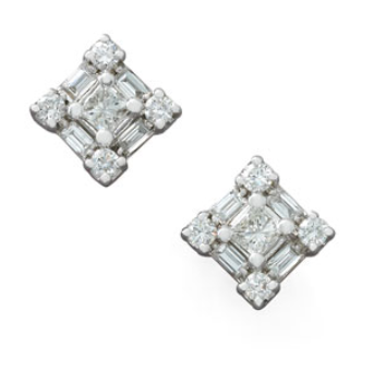 Diamond Princess Earrings