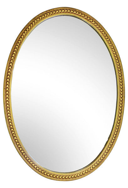 Oval Gilt mirror