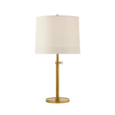 Simple Scallop Table Lamp