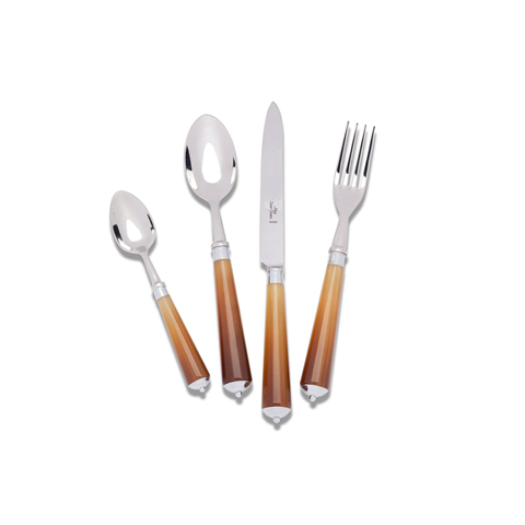 Dark Horn Stainless Steel Cutlery 5 Piece Place Setting