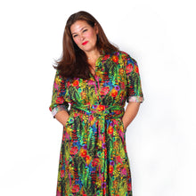 Dorothy Dress In Mixed Liberty Prints