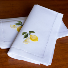 Fresh Lemons Dinner Napkin