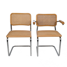 Marcel Breuer Mid-Century Chrome and Cane Chairs - Danielle D Rollins