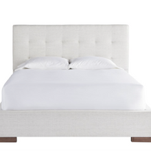 Ivory Dover Upholstered Bed