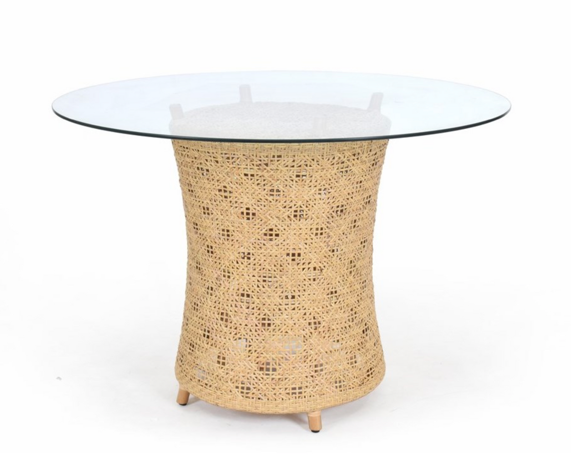 Woven Rattan Table Base