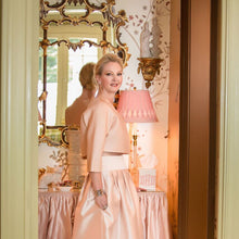 Cecil Silk Wool Ball Skirt - Danielle D Rollins