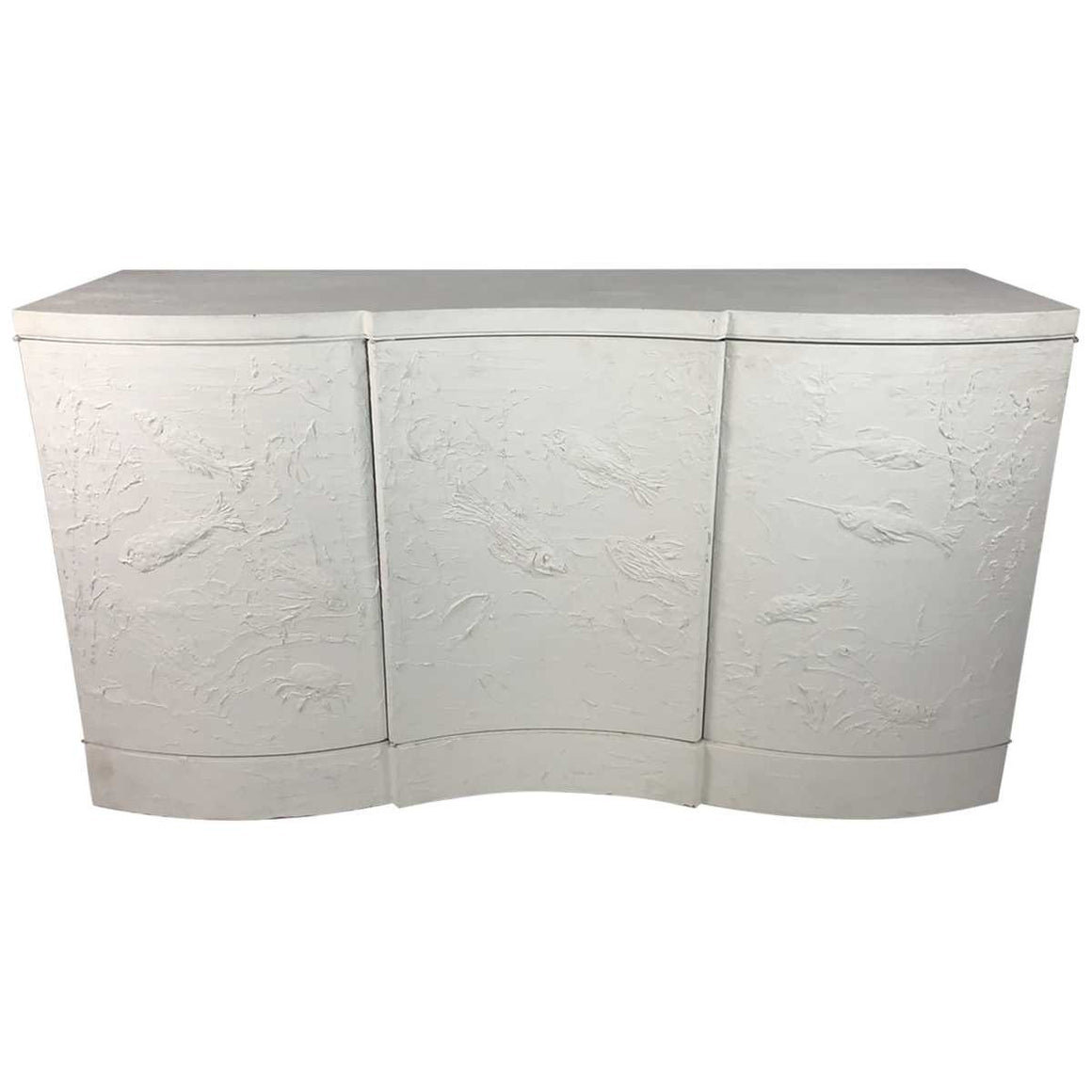 Three Door Serpentine Sideboard