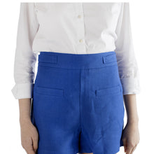 CZ Shorts in Solid Linen