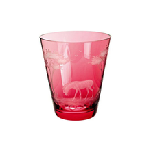 Crystal Tumblers with Engraved Wildlife