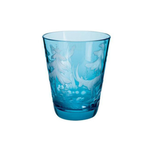 Crystal Tumblers with Engraved European Wildlife