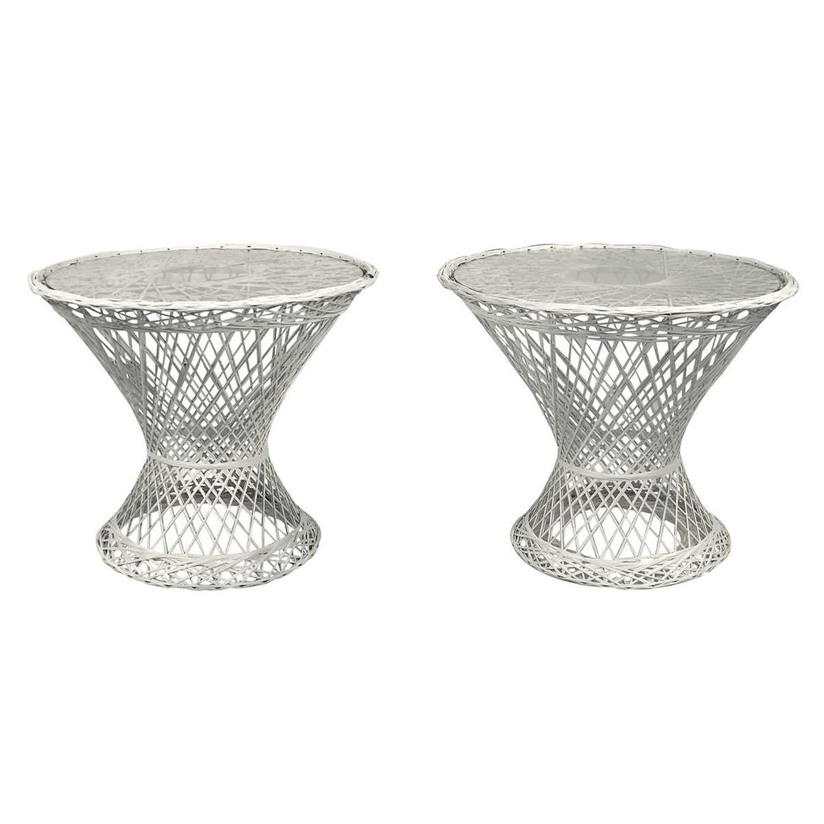 Woodard Furniture Co. Patio End Tables