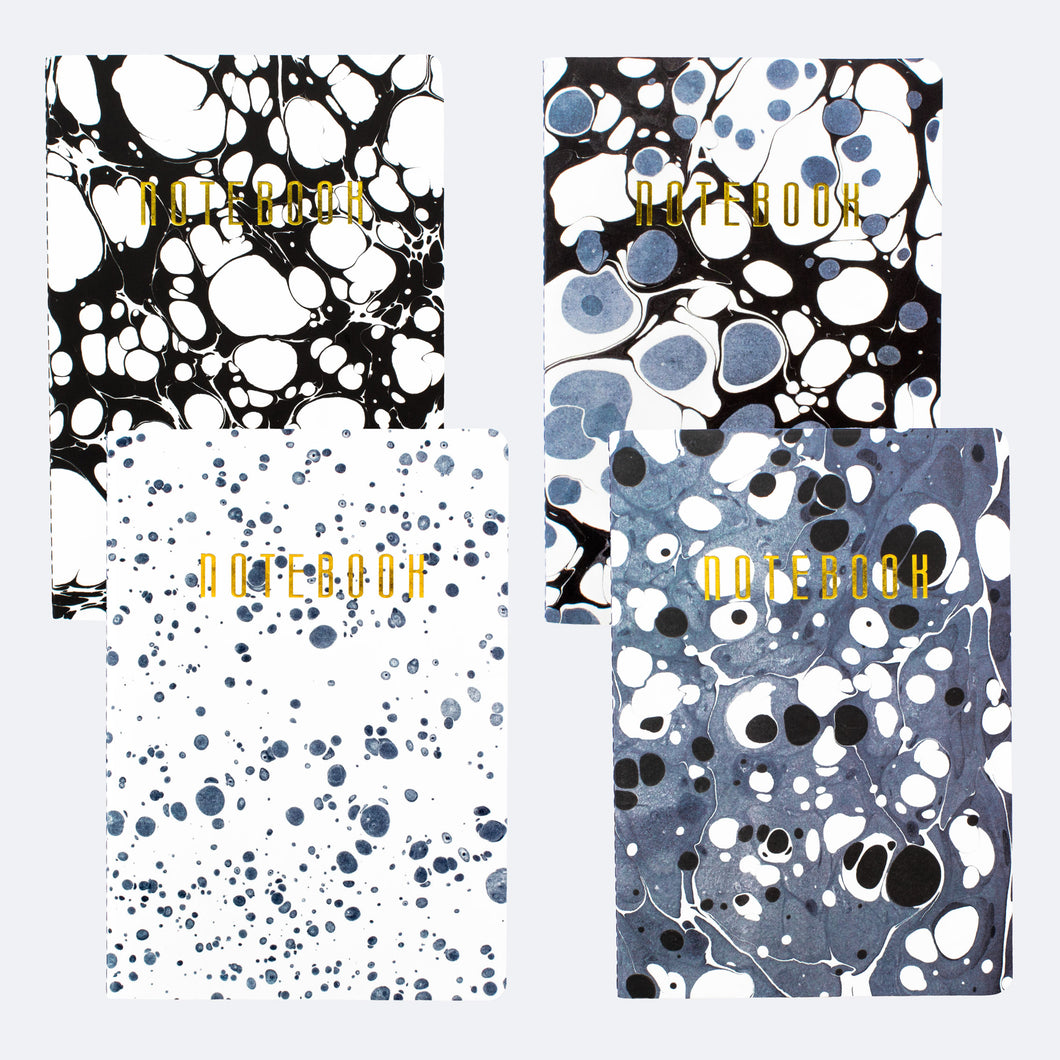 Set of 4 - Beautiful Mess Notebooks