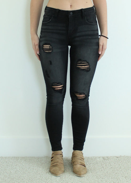 ASHER DISTRESSED JEANS