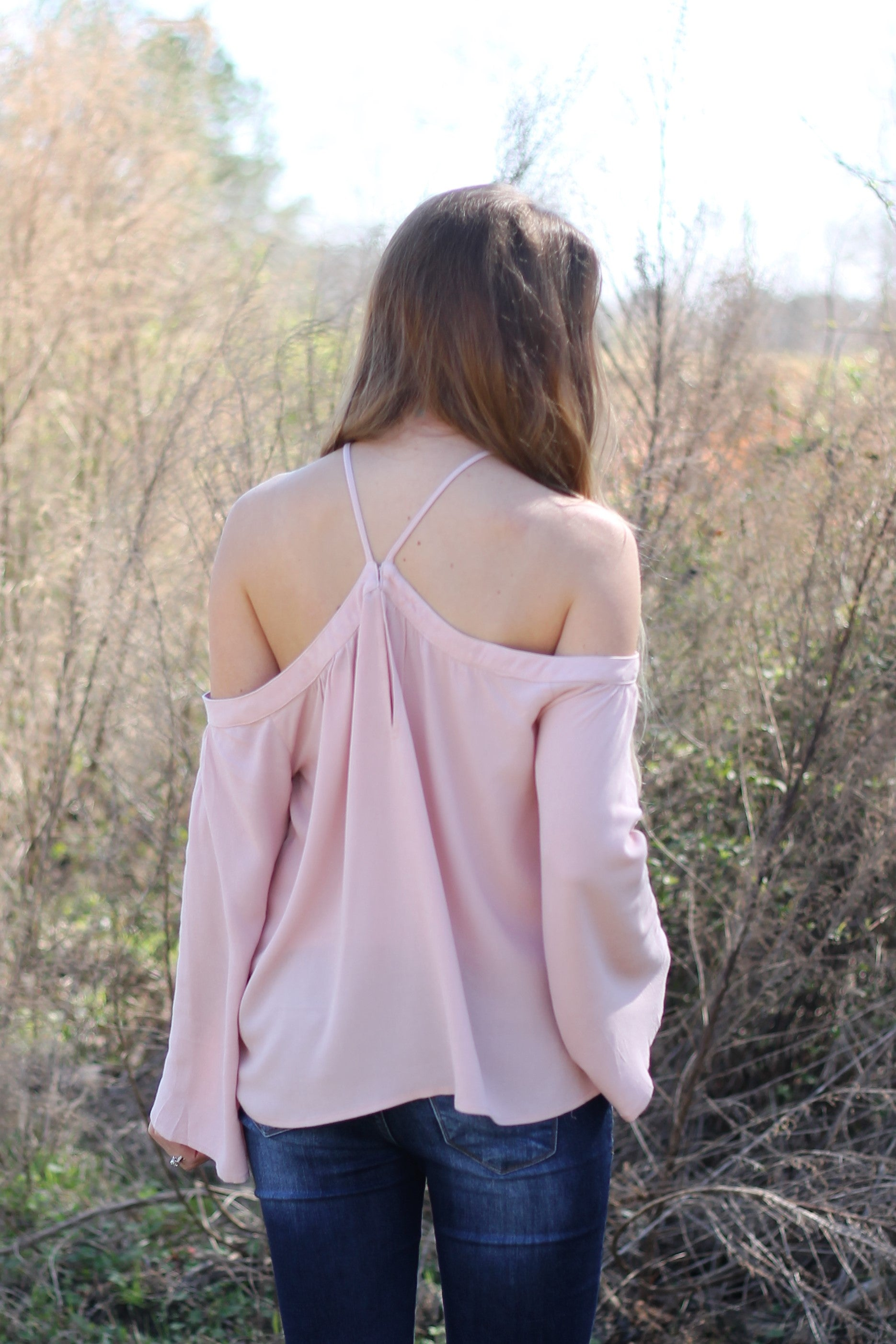 GENEVIEVE OFF SHOULDER TOP