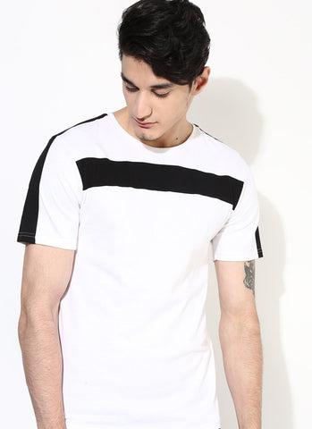 Men's Premium Organic Cotton Black Bar T-shirt